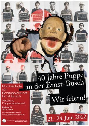 40 Jahre Puppenspiel an der Ernst-Busch-Hochschule