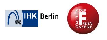 Koalition IHK-Berlin - Freie Szene