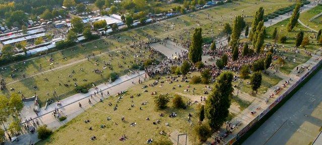 Der Mauerpark in Berlin