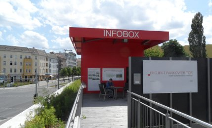 Rote Infobox - Pankower Tor