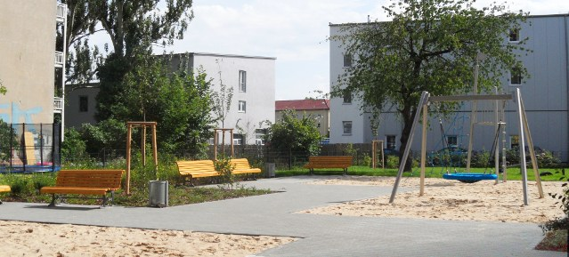 Spielplatz an der Lehderstraße