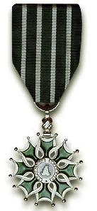 Chevalier d'ordre des arts et lettres