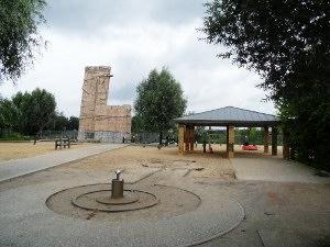 Spielplatz am nördlichsten Ende des Mauerpark