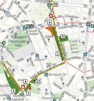 Grünes Band - Karte
