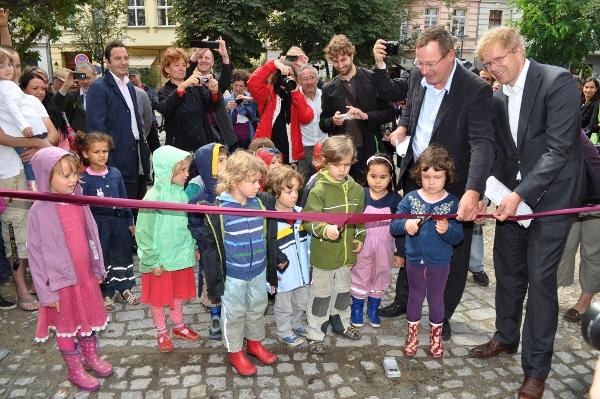 Eröffnung Spielplatz Hirschhof