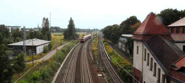 Gleisstrecke Pankow