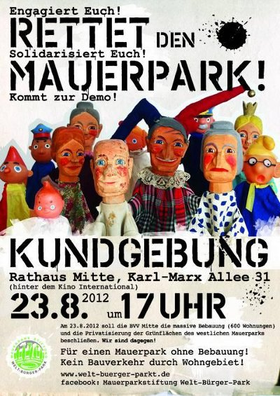 Mauerpark Demo