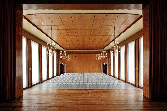 Aula der Kunsthochschule Weißensee (Entwurf: Selman Selmanagic)