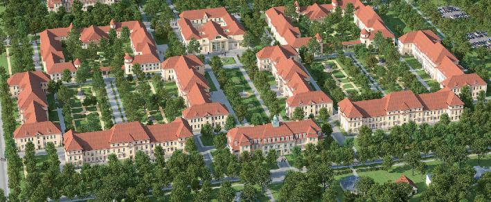 Ludwig-Hoffmann-Quartier Architektur-Visualisierung