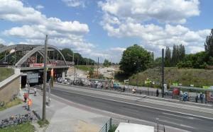 Pankower Tor: Straßenbahn-Haltestelle