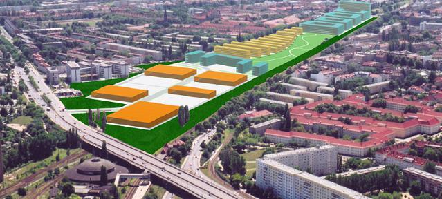 Entwicklungskonzept Rangierbahnhof Pankow aus dem Jahr 2003 www.av-a.vom