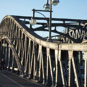 Bösebrücke am S-Bahnhof Bornholmer Straße