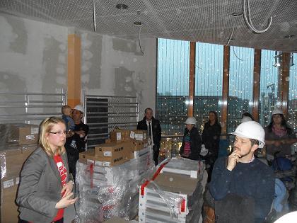 """KLAX Kita """"Karlsson auf dem Dach"""": Baustellenbesichtigung am 21.11.2012"""