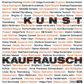 Kunstkaufrausch, Kunstauktion in der Galerie F92