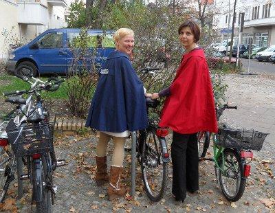 Katrin Mirtschink und Petra Wenzel von Pankebuch