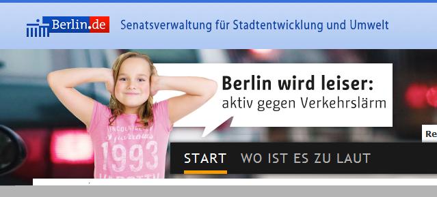 Berlin wird leiser: aktiv gegen Verkehrslärm