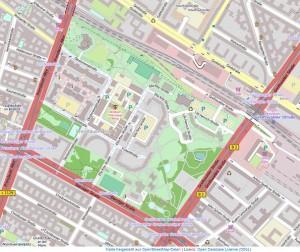 Thälmann-Quartier - Karte: Openstreetmap.org