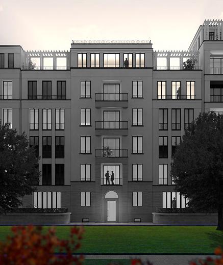 Luxuswohnen am Mauerpark - Entwurf Nöfer Architekten