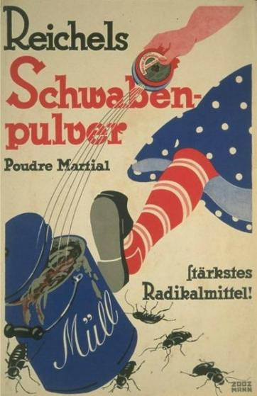 Reichels Schwabenpulver  - Industrie (Getränke), Otto Reichel, Essenzfabrik, chem.-pharm. und kosm. Präparate Berlin-Neukölln