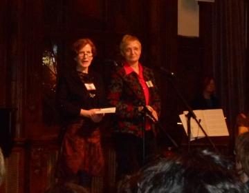 Frauentagsfest: Heike Gerstenberger (links)