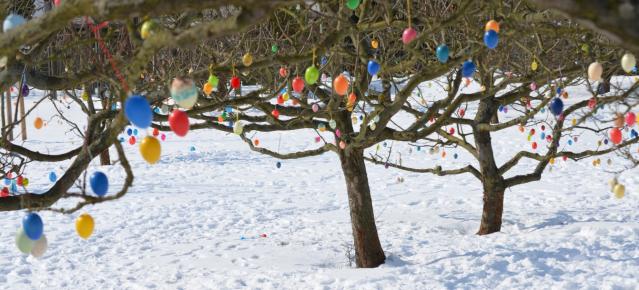 Kalte Ostern - Osterschmuck 2013