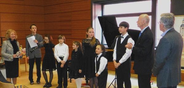 Benefiz-Konzert am 12.04.2013 im Max Delbrück Centrum
