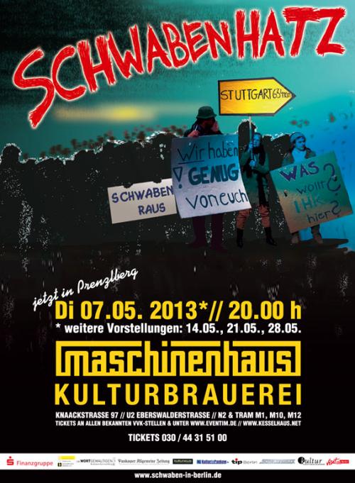 "Plakat ""Schwabenhatz"""