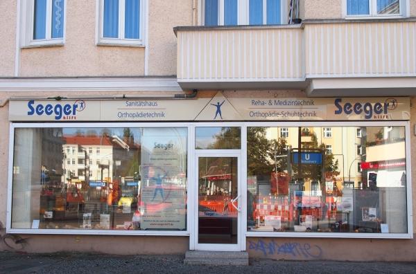 Seeger - Filiale Brennerstraße in Pankow