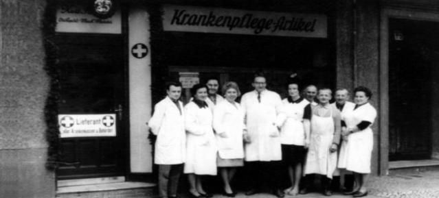 Sanitätshaus Seeger wird 75 Jahre alt!