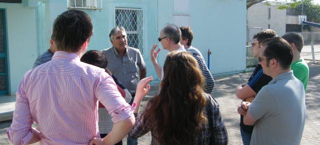 Pankower Delegation zu Besuch in Israel