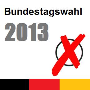 Bundestagswahl am 22.September 2013