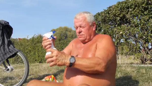 Rentner im Mauerpark