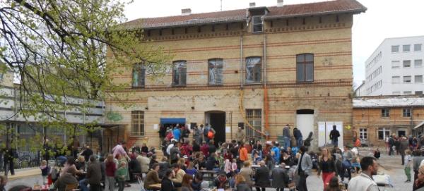 Biergarten in der Willner Brauerei eröffnet