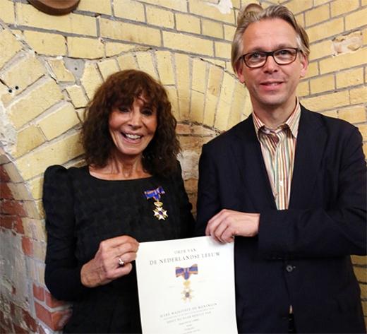 Kristin Feireiss zum »Ritter im Orden vom Niederländischen Löwen« ernannt