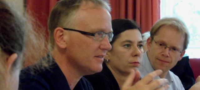 Klaus Mindrup - Sandra Scheeres und Ephraim Gothe am 19.6.2013