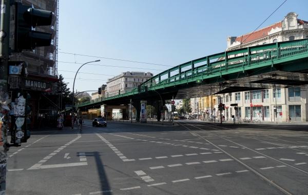 100 Jahre Hoch- und U-Bahn am 27.7.2013  Kreuzung Schönhauser/Danziger Str.