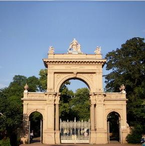 Tor im Pankower Bürgerpark