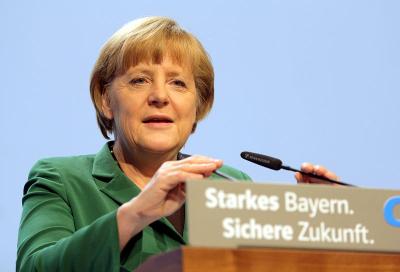 Dr. Angela Merkel - Foto: Michael Lucan/pixeldost, Lizenz: CC-BY-SA-3.0