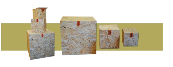 Holz im Kreativkreislauf:  OSB BOX Loretta Rest