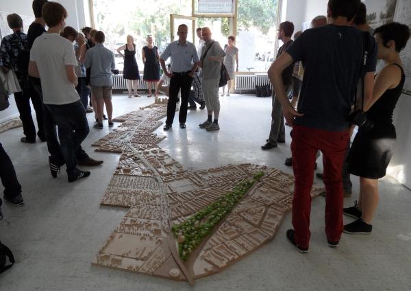 Urbane Siedlung Pankow - ein neues Stück Stadt - Ausstellungseröffnung