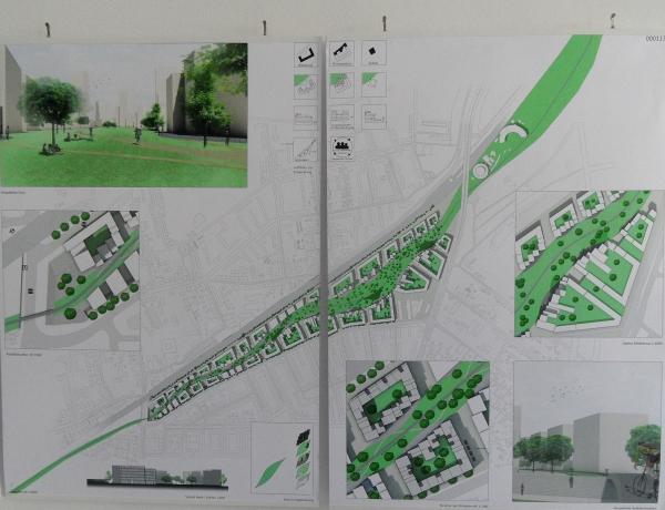 Urbane Siedlung Pankow - Grüne Siedlungsachse