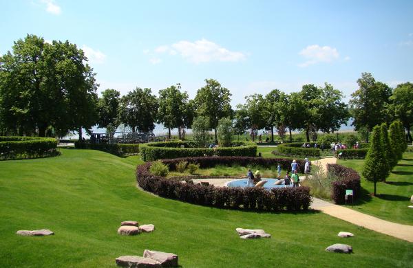 Blick über den Seepark
