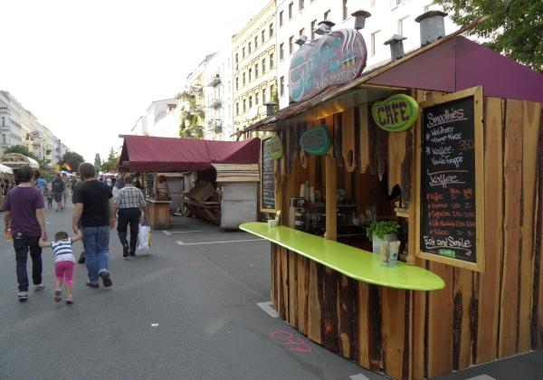 CastingCarree-Festival: Bunte Buden laden zum Schlemmen