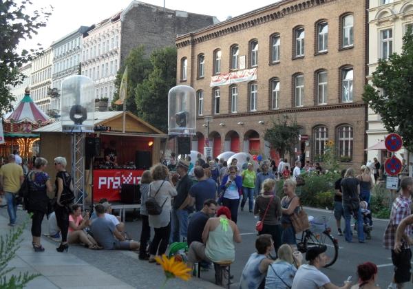 CastingCarree-Festival: Techno-Sound vor der Alten Feuerwache