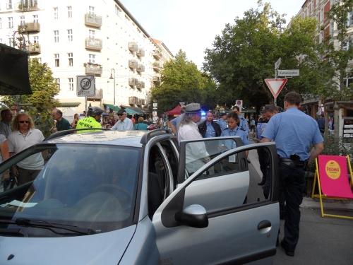 CastingCarree-Festival: Polizei gegen gewaltsamen Drängler