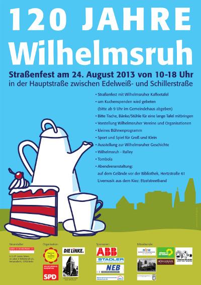 Kaffeetafel in Wilhelmsruh