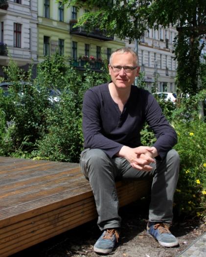 Klaus Mindrup (SPD) in der Oderberger Strasse