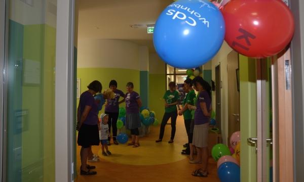 Klax Kita empfängt ihre jungen Gäste mit freundlichen Farben - Foto: KLAX GgmbH