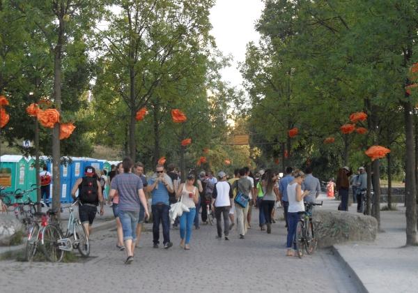 Knaack-Sommerfest im Mauerpark 2013