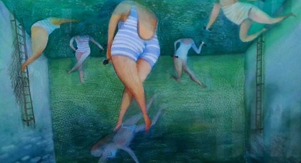 Liza Nevinnaja: Unschuld - in der Galerie Vinogradov